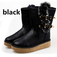 young  fashion style keep warm fashion grommet women snow boots