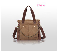 High road canvas handbag retro bag shoulder bag Messenger bag leisure bag new diagonal package