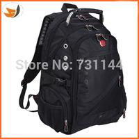 Fashion  swiss backpack nylon bag outside computer travel bags swiss gear