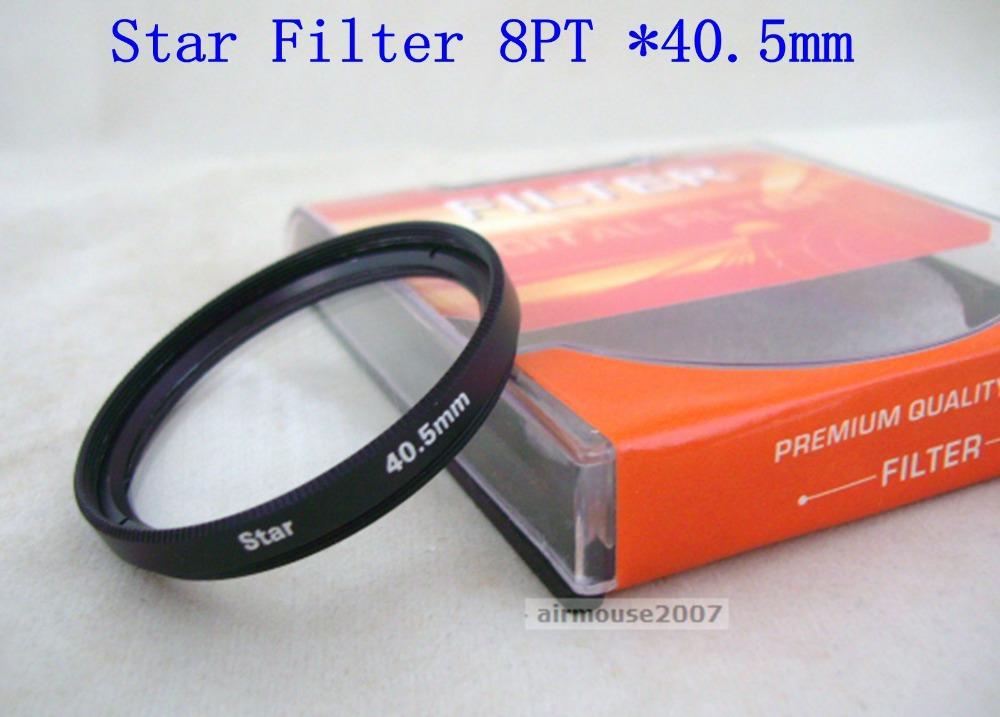 Star Cross Light Filter 40.5 40.5MM 8 Point 8PT For Camera Camcorder DSLR Lens Circular(China (Mainland))