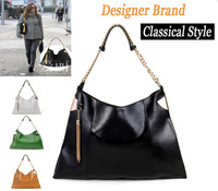 2013 New Arrival Fashion Vintage Style+Metal Tassel Designers Brand Bag 100%Genuine Leather Chain Single Shoulder Bags for Women
