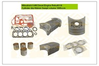 New Overhaul Engine Rebuilt Kit for K4M 1995cc Diesel Engine Crawler Excavator and Digger