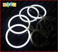 a set 120mm CCFL 8000K Angel Eyes fit for B.MW E30 E32 E34 Halo Ring Halo Light  FREESHIPPING GGG