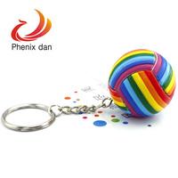 7 Colors Rainbow  Key Chains10pcs/lot mixed lot mini key chain ,promotion key chain FREE SHIPPING