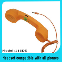 Cheap High Quality Anti-Radiation Retro Handset for any mobile phone retro handset