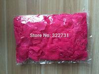 Free Shipping Fuchsia Silk Flower Petals for wedding decoration