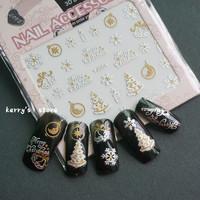 Christmas 3d nail art sticker 20 design for choosing nail decrations
