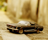 Ford mustang gt alloy car model retro finishing do old car model art collection homedecoration prop gift model car