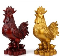 free shipping Large chicken decoration resin copper Small 2384 lucky crafts