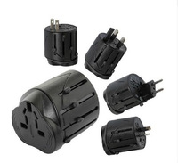World Travel Adapter USB Universal Travel AC Power Adapter Adaptor Plug Adapter 2 Usb Charger plug US/EU/UK/AU Drop Shipping