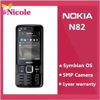 Original NOKIA N82 Unlocked Mobile Phone GSM  Dual Camera 5MP WIFI 3G GPS  Refurbished Phone SG Post Free Shipping