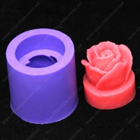 Free shipping 3d rose  candle soap  Cake  cookie mold  silicone molds r004
