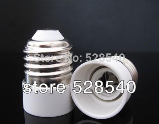 free shipping 12pcs/lot E27 to E14 Lamp Holder adapter Converter Socket Light Bulb Lamp Holder Adapter Plug Extender wholesale(China (Mainland))