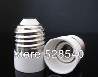 free shipping 12pcs/lot E27 to E14 Lamp Holder Converter Socket Light Bulb Lamp Holder Adapter Plug Extender wholesale
