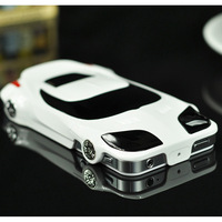 3D Fashion PC Hard Case for iPhone 5S Sport Racing Car Design Protective Case Cover for iPhone 5,1pc/lot