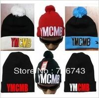 1 pc/lot Free Shipping Unisex YM kateboard Knitted Beanie Winter Wool Hat DG5082