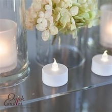Flickering Flicker Flameless LED Tealight Tea Candles White Light Battery Operated Wedding Birthday Party Christmas Decoration(China (Mainland))