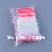Hot New 100x 5x7cm Jewelry Ziplock Zip Zipped Lock Reclosable Plastic Poly Clear Bags 60-357
