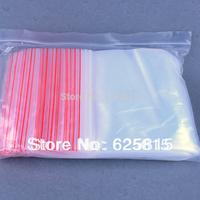 Hot New 100x 11x30cm Jewelry Ziplock Zip Zipped Lock Reclosable Plastic Poly Clear Bags 60-370