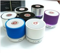 Free Shipping  2013 New arrived office gadgets  wireless bluetooth speaker mini music player mp3