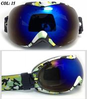 Super horizon Dual Lens ski goggles Scratch resistant polarizer skiing maskAnti-fog uv protection glasses best Christmas Gift 15