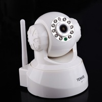 T2N Tilt White 2-Way Audio Camera Wireless Security Night Vision WIFI IP Network