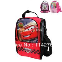 Cartoon meal package boys girls shoulder lunch bag cooler bag, portable picnic for kid 069