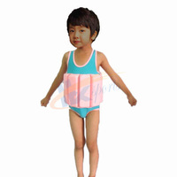 Sun life jacket one-piece bathing suit floating beginner swimming 2 3 4 5 6 7years old YED-626