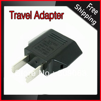 5pcs/Free Shipping USA Flat to Round Plug Adapter
