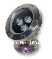 3W LED underwater light, SL304 stainless steel,DS-10-9, RGB,warmwhite,white,12V DC,IP68