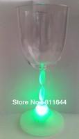 Led flashing Wine cups,flashing Sauces,RGB flashing cups,Free shipping
