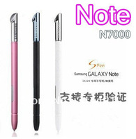 10pcs/lot free shipping New Genuine Original Stylus Touch S Pen Spen for SAMSUNG Galaxy Note N7000