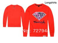 5 Colors Cheap Diamond Supply Co Sweatshirt Fashion Mens Hiphop Autumn Winter Brand Sweater fleece print pullover sportswear