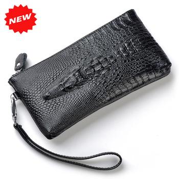 est 100% Натуральная кожа Wristlet Day Clutch Evening Bags Модный Женщины Mobile ...