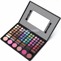 Hot sale New 78 Pcs  Eye Shadow Blusher Palette Facial shading powder Free shipping