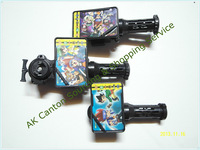 Free shipping! One Set 3 Segment Beyblade New Power Launcher Set With LauncherGrip,Double Side Launcher For Metal Fustion Toy