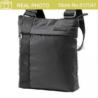 HB969  Jeans Men's Solid Black Sling Bag Messager Bag NWT