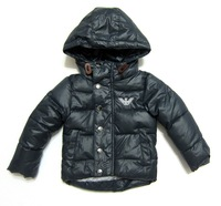 Free shipping  2014  The new children's winter coat  Boys and girls thick coat fashion  Baby windbreaker jacket