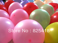 Free shipping 200 pieces/lot Balloon Latex 10 inch  Birthday Holiday Christmas Decoration Children's Toys balloons