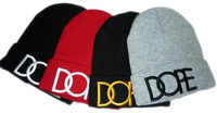 free shipping Dope beanie hats 3D embroidery for men and women 4 colors to select