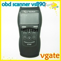 Newest and multi-language VGATE VS890 MB880 OBDII OBD2 EOBD CAN-BUS Fault Code Reader Scanner vgate maxiscan vs890