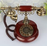 Happy homes Rotary dial phone retro telephone Creativity vintage antique plane Antique Telephones Free shipping