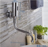 Automatic senser faucet hands touch free wall mounted medical water tap thickening copper material Free shipping