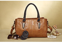 Factory direct sale New Arrived casual popular handbag leather shoulder bag fashion office bag free shipping