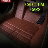 car styling covers luxury leather mats floor mat customized for cadillac SRX CTS  car accessories FREE SHIPPING