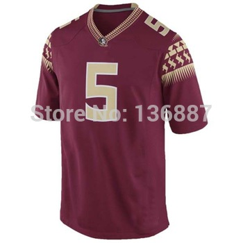 Youth Florida State Seminoles FSU #5 Jameis Winston,Embroidery logos,NCAA College Football Kids Jerseys,Child Boys Girls Jersey