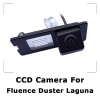 Car Rear view Camera For Renault Duster Fluence Laguna Latitude with CCD Sensor, Waterproof, 170 Degree Wide View, Night Vision