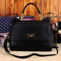 2013  Fashion women's Real Genuine Leather Handbags famous brands designer vintage bags women cowhide bags Free Shipping