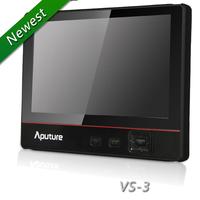 Aputure V-Screen VS-3 ultra-thin 7'' IPS LCD Field monitor HDMI/YPbPr/AV (Audio/L/R) for DSLR