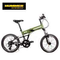 Hummer pt-2021f hummer bicycle series folding mountain bike professional 24 variable speed v